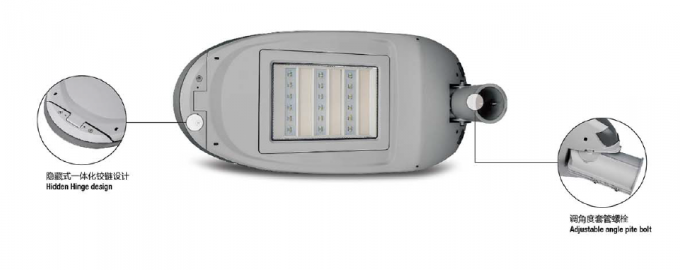 100-120 Watt Outdoor LED Street Light  12000Lm Aluminum IP65 for Main Road and Industrial Area