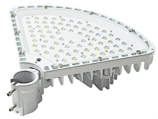 120W Led Road Lighting Fixtures For Major Road With 2 Fans