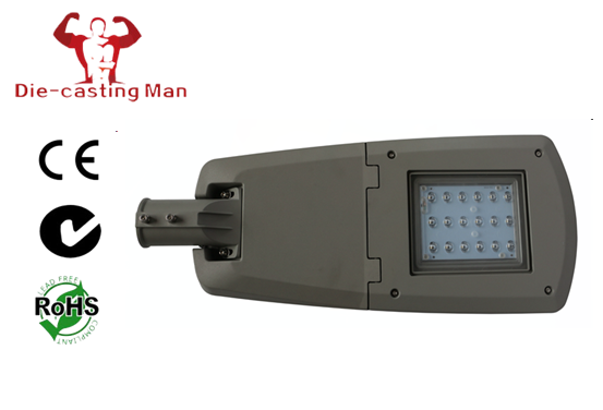 50 - 70W LED Street Light Fixtures Diecasting Aluminum IP66 Water Proof