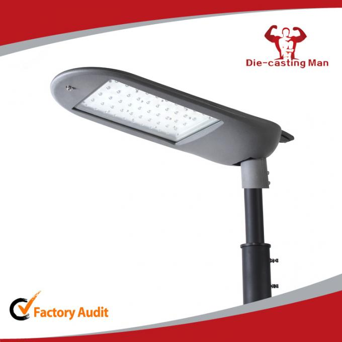 Aluminum Die Casting 100W LED Street Light Housing Street Lighting Fixture