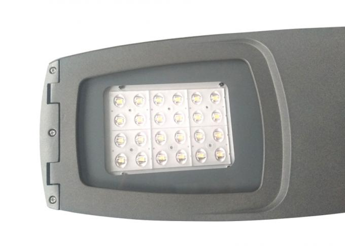 IP66 80w High Efficiency CE Certified Aluminum Housing SMD LED Street Light Fixtures with Photo Cell 5 Years Warranty