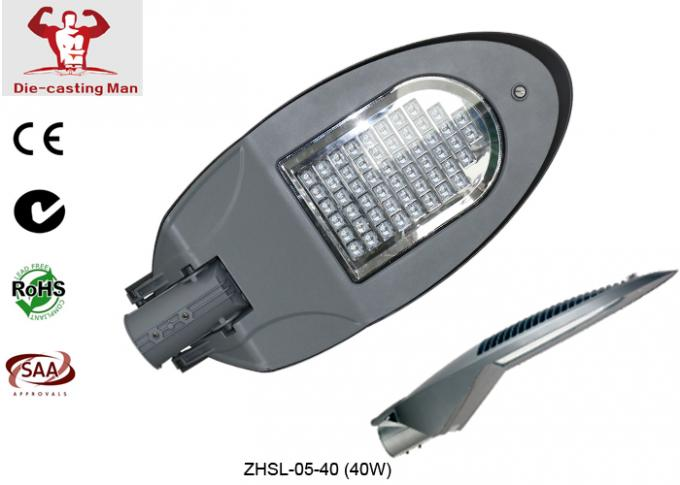 SMD economic style IP66 CE RoHS approved aluminum Led street light housing 20w - 120w for outdoor road