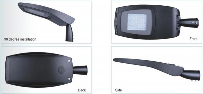 50 / 60Hz LED Street Light Housing 50000h LED Lifetime IP66 IK08 ZHSL-13-150