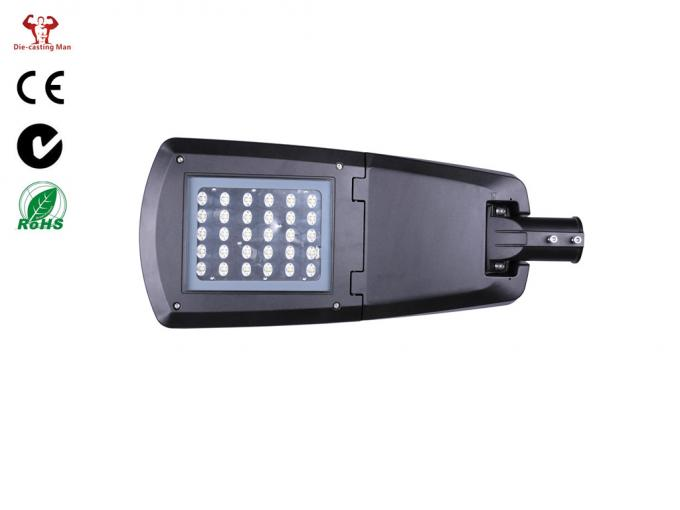 High Efficient Aluminium LED Street Light Housing IP66 IK08 Complete Lamp