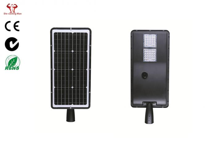 Aluminum Small Solar Led Street Light 10W ZHSL-16-10 2 Years Controller