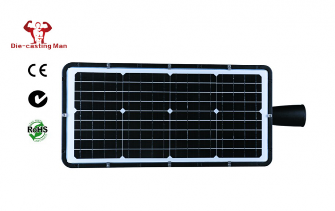 3750LM Integrated Solar LED Street Light 25W With Adjustable Adapter