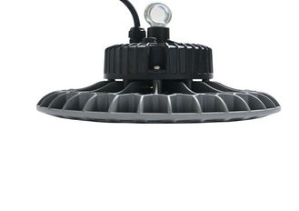 China 100w - 200w Round Led High Bay Lighting Fixtures With Excellent Surface Treatment supplier
