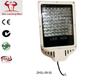 China 40W Waterproof LED Street Light Fixtures , Exterior LED Street Light Housing for Roadway supplier