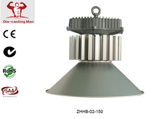 China Aluminum Housing LED High Bay Lights 150W / Commercial LED High Bay Lighting Super Bright supplier