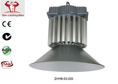 China Bridgelux  SMD 200W LED High Bay Lights Fixtures for Warehouse / Tunnel / Factory Lighting supplier