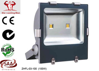 China 9600Lm 100W Outdoor LED Flood Light Fixtures / LED Exterior Flood Lights for Advertisement Board supplier