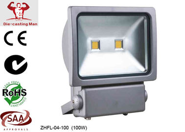 China 100W Waterproof Outdoor Led Flood lights 9600 lm High Lumen 3000k - 6500k Warm White supplier
