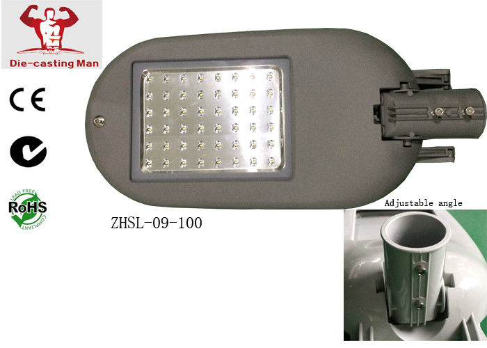 Bright 10000lm Led Street Lighting Fixtures High Lg