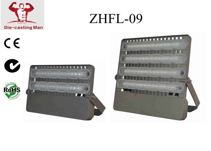 ip65 industrial outdoor led flood light for warehouse and tennis court 120w 12000lm aluminium black