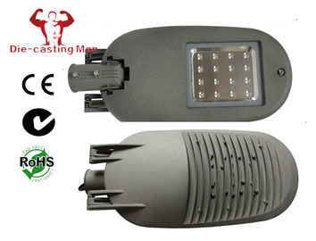 High Efficiency Grey Outdoor Led Street Lights Die-casting Aluminium IP66 IK08 exporting with good package
