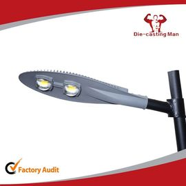 China Gold Grey 150 Watt Led Street Light Fixtures AC85 - 265v Led Road Light factory