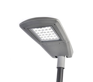 China IP66 120W LED Street Lamp Fixtures / Industrial Led Light Fixtures Black And Grey Colour factory