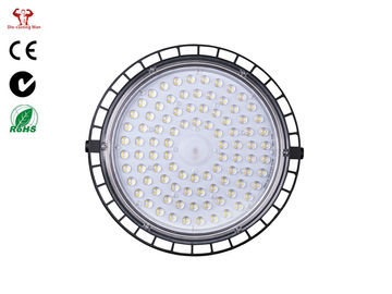 China 200W Round Led High Bay / IP66 Outdoor High Bay Led Lights ZHHB-04-100 factory