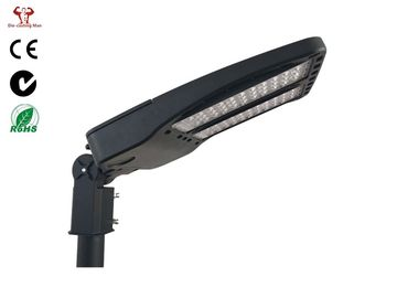 China Ip66 Shoebox Led Street Light Housing 300w High Power In Grey / Black Color distributor