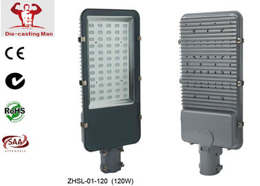 China AC 220V / 240V SMD 120W LED Street Light Fixtures Exterior LED Lighting Fittings IP 65 factory