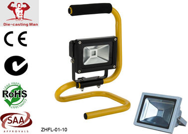 China Portable 10W Outdoor LED Flood Light Fixtures High Power and High Lumen 800 lm 3000k - 6500k factory